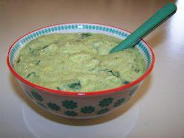 guacamole de soja soyeux au moringa