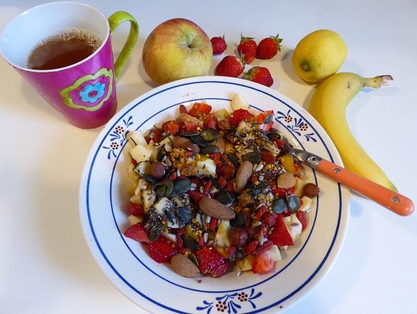 Petit-dejeuner vitamine