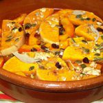 Butternut et potimarron au four